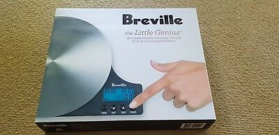 Breville BSK500BSS the Little Genius™ Kitchen Scale & Thermometer - RRP $109.95