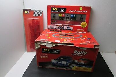 SCX slot car racing set rally experience