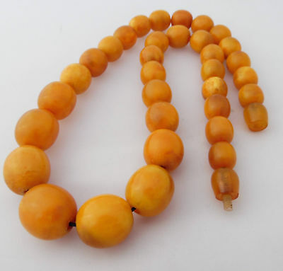 Beautiful Antique natural Baltic Amber Necklace