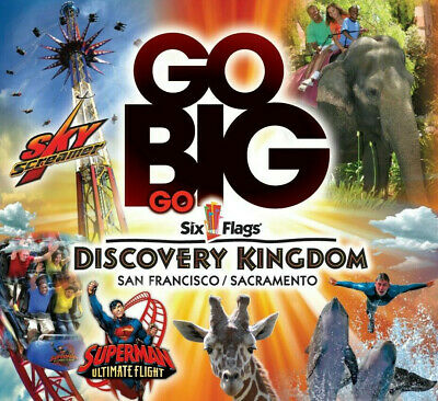 Six Flags Discovery Tickets $43.99   A Promo Savings Discount Tool
