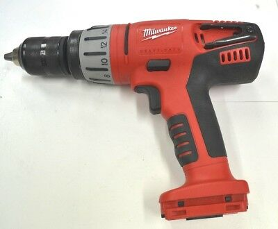 Milwaukee 0724-20 28 Volt Lithium-Ion Heavy Duty Cordless Hammer-Drill Skin Only