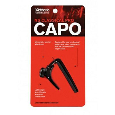 Planet Waves by D'Addario PW-CP-04 NS Classical Guitar Capo