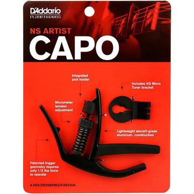 Planet Waves by D'Addario PW-CP-10 NS Artist Capo