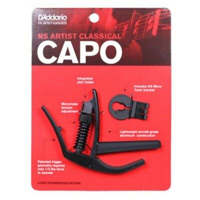 Planet Waves by D'Addario PW-CP-13 NS Artist Classical Guitar Capo