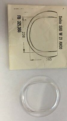 SEIKO PLASTIC GLASS SA0 W 21 AN00 - Case No. 7006-5000