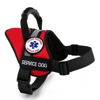 ALL ACCESS CANINE™ Service Dog ESA Dog Therapy Dog Vest Waterproof Harness USA