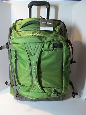 Eddie Bauer Expedition Rolling Drop Bottom TSA Medium Carry On Duffel, NWT 5fc9dfd83b