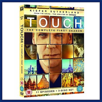 Touch Tv Series - Complete Series 1 - First Season *Brand New Dvd*