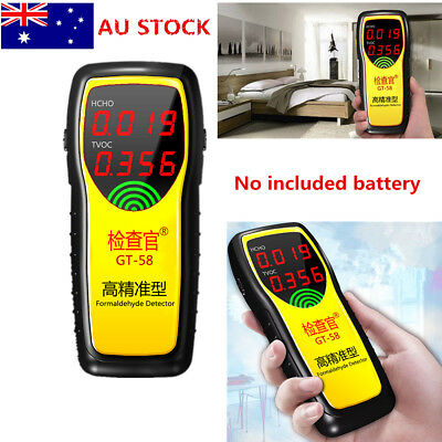 AU Professional Formaldehyde Detector Indoor Air Gas Tester Benzene Measure New