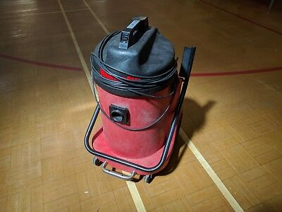 RED NUMATIC NVD 900 2 TWIN MOTOR Industrial Commercial Vacuum Cleaner Hoover
