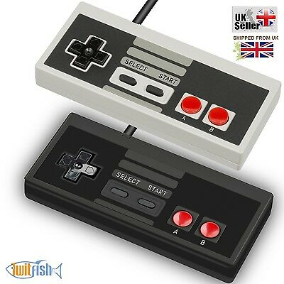 TwitFish NES MINI Classic Edition Wired Controllers with 1.8 Metre Cable
