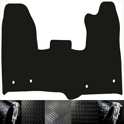 Ford Transit Custom (2015-On) Choice Of Black Rubber Tailored Van Floor Mats
