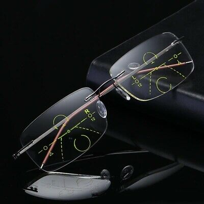 Reading Glasses Progressive Multifocal Lens Presbyopia Anti Fatigue Glasses