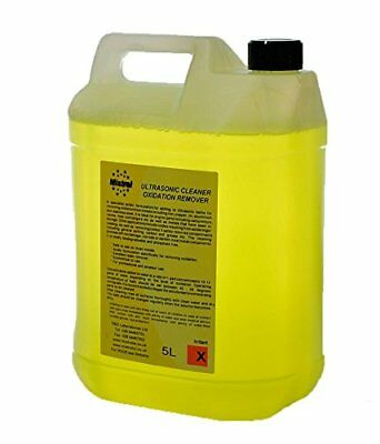 Ultrasonic Cleaning Solution for Oxide & Scale Removal 5L (5Litres) Concentrate