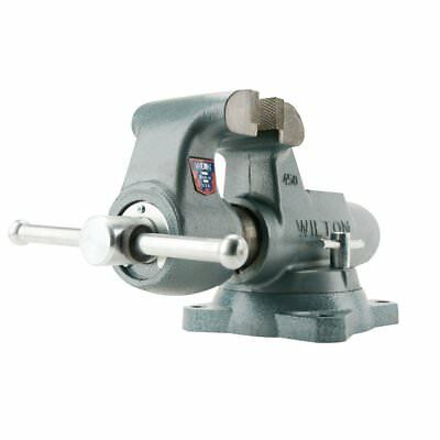 Wilton WMH10021 450S, 4-1/2 in. Jaw Machinists' Bench Vise with Swivel Base New