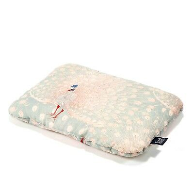 Mid Pillow Baby 30x40 By La Millou Royal Peacock Baby Shower Crib Bed Cotbed