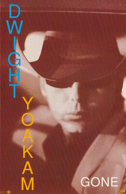 Lot Of 2 Posters: Country Music : Dwight Yoakam - Gone -  Free Ship #7221 Rc39 L