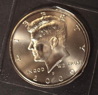 2009 P Kennedy Half Dollar Satin Finish In Mint Packaging VERY LOW MINTAGE