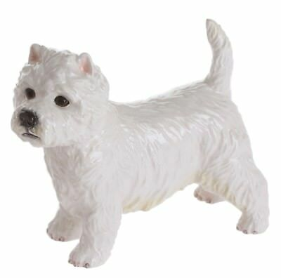 John Beswick West Highland Terrier Dog Ceramic Figurine Ornament 10cm JBD84