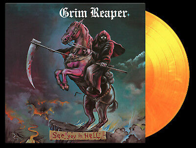 GRIM REAPER - See You in Hell  LP  FLAME