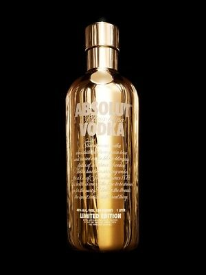 Absolut Vodka Bling Bling Limited Edition 1l Cover Hülle