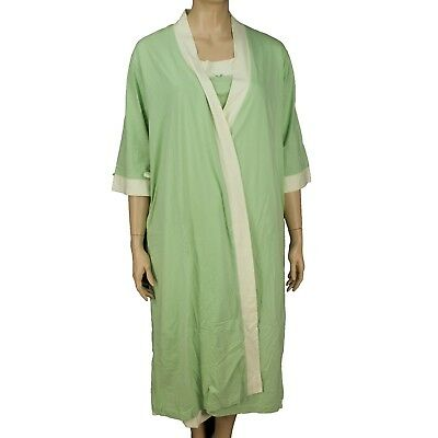 78 Carole Hochman Robe And Gown Set Women Plus Size 2x 2999