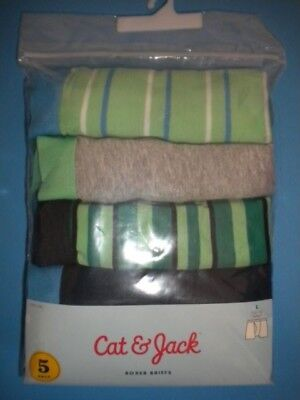 Cat & Jack Size Large (12/14) 5 Pack 100% Cotton Boys Briefs