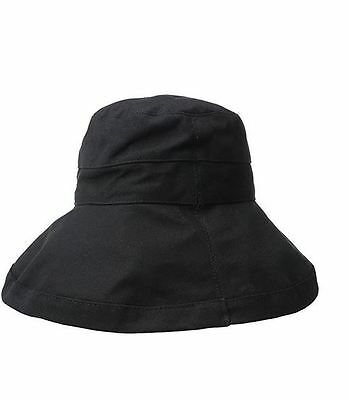 a8288ad6 Scala Women's Cotton Big Brim Hat with Inner Drawstring and Upf 50+ Rating