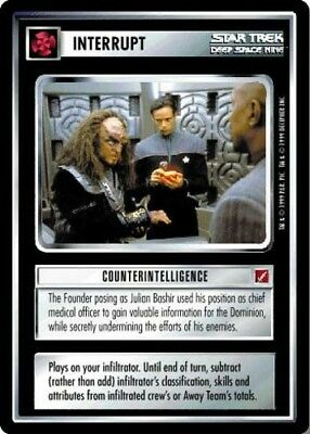 Star Trek Intruder Alert! Ungraded Blaze of Glory STCCG Decipher 1E