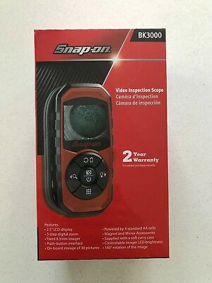 *NEW* Snap On Handheld LCD Display Video Inspection Scope BK3000
