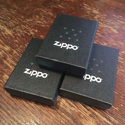 LIGHTER lot of 3 GENUINE ZIPPO EMPTY BOXES WITH PAPERS USA