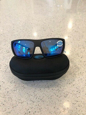 75030f049b NEW COSTA-DEL-MAR-HAMLIN-POLARIZED-SUNGLASSES-BLACKOUT-BLUE-MIRROR ...