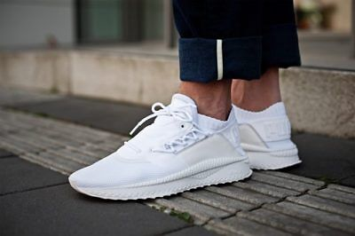 0cb2d020b51e New Puma Mens Tsugi Shinsei Size Men s 9 Triple White Sneaker nt clyde
