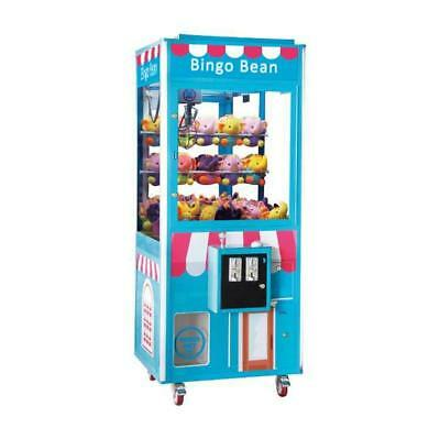 Bingo Bean Prize Crane Machine 31 Coin Operated Without DBA