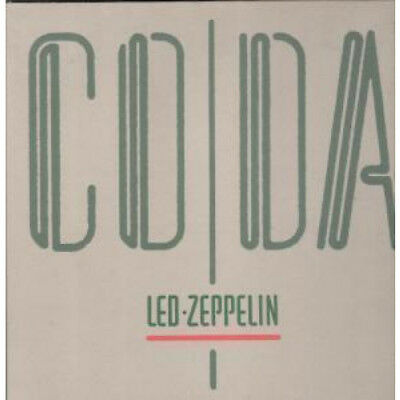 LED ZEPPELIN Coda LP VINYL Germany Swan Song 1982 8 Track Gatefold Sleeve With
