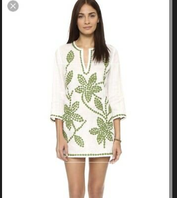 1ed496480f64 TORY BURCH EMBROIDERED Tunic Dress Cover-Up. NWT. Size Small. Retail-  350  -  165.00