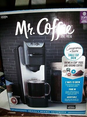 Mr Coffee Single K One Cup Keurig Brewing System Brew Bvmgsc100