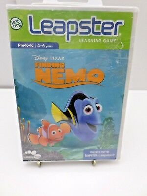 Leapster Finding Nemo Learning Game Works With  Leapster 2 & Leapster. LeapFrog