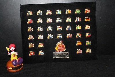 McDonald's Limited-Edition Commemorative 36 Pin 30th Birthday Set + Rare Toy