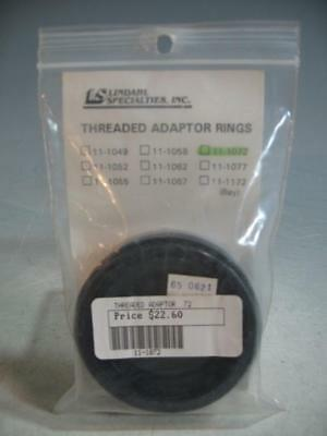 Lindahl Threaded Adapter Ring 72MM For The Bellow Shade Filter Holder 45