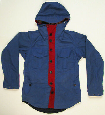 JCrew x Barbour Collaboration Beacon Brand TO KI TO Lightweight Jacket S Blue