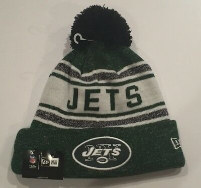 681481e2db1ee6 New Era New York Jets Cuffed Winter Hat Beanie Gang Green Broadway Joe NFL