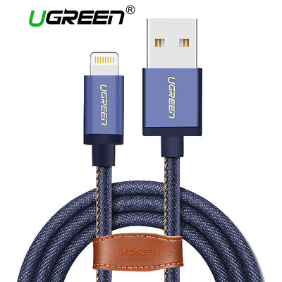 Ugreen Lightning to USB Cable 1m MFi Certified Fast Charging for iPhone X 8 7 6