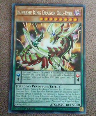 SUPREME KING DRAGON ODD-EYES - (COTD-EN015) - Rare - 1st - Yu-Gi-Oh (InHand)