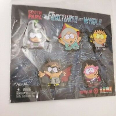 EXCLUSIVE Official Limited Edition South Park 5-Pin Set The Fractured But Whole