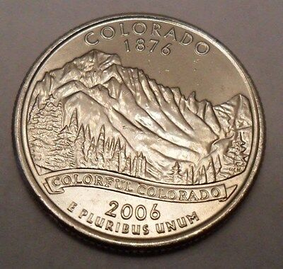 2006 D Colorado State Quarter  **FREE SHIPPING**