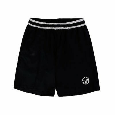 Men's Tennis Short -Sergio Tacchini Tennis Master Short, Blue/White - Size XL