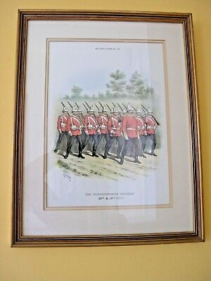5 MILITARY TYPES PRINTS by R. SIMKIN 108, 72, 80, 57 & 66 PROFESSIONALLY FRAMED