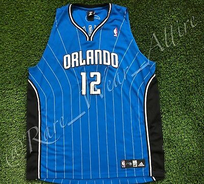 3766963e396f ... nba jersey orlando magic dwight howard adidas authentic sz 60 shaq