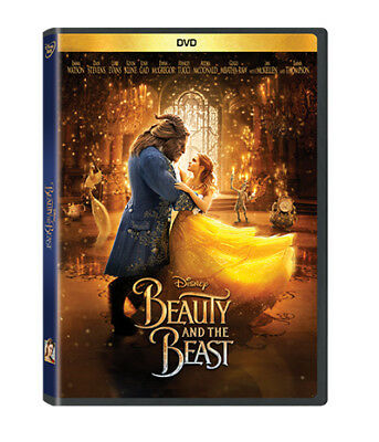 Beauty and the Beast (DVD, 2017) Emma Watson New & Sealed plus Free Shipping!